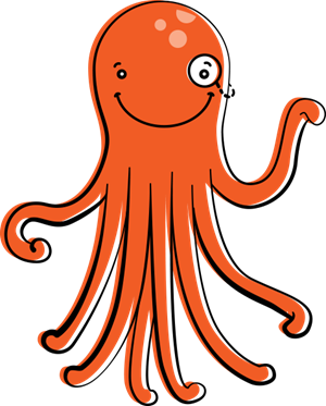Friendly octopus